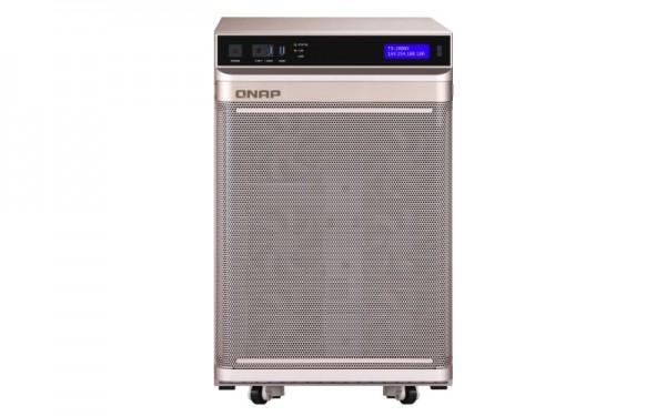QNAP TS-2888X-W2145-256G 28-Bay 40TB Bundle mit 4x 10TB Gold WD102KRYZ