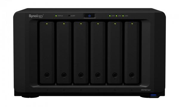 Synology DS1621xs+(16G) Synology RAM 6-Bay 50TB Bundle mit 5x 10TB Gold WD102KRYZ