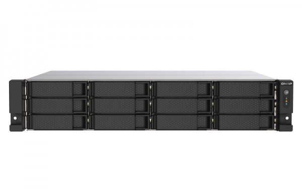 QNAP TS-1253DU-RP-4G 12-Bay 48TB Bundle mit 6x 8TB IronWolf Pro ST8000NE001