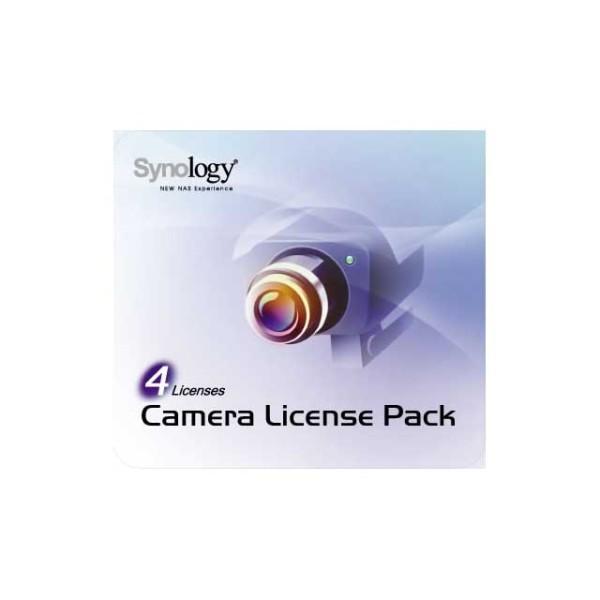 Synology Kamera Lizenz Paket DEVICE LICENSE für 4 Kameras