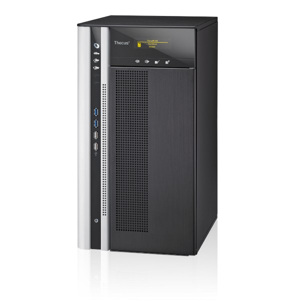 Thecus N10850 10-Bay 10TB Bundle mit 1x 10TB Gold WD101KRYZ