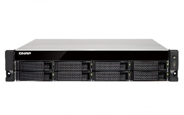 Qnap TS-873U-8G 8-Bay 2TB Bundle mit 2x 1TB Red WD10EFRX