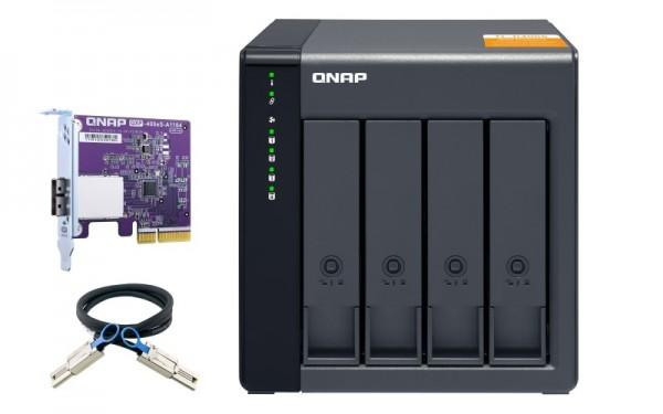 QNAP TL-D400S 4-Bay 24TB Bundle mit 2x 12TB Gold WD121KRYZ