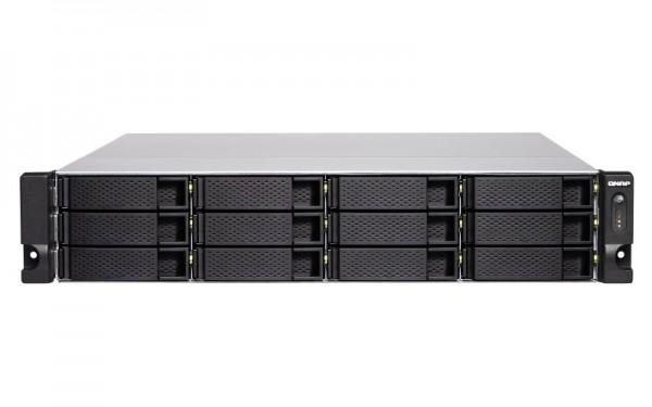 QNAP TS-1886XU-RP-D1622-8G 12-Bay 60TB Bundle mit 6x 10TB Gold WD102KRYZ