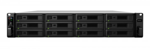 Synology RS3621xs+(16G) Synology RAM 12-Bay 144TB Bundle mit 12x 12TB Gold WD121KRYZ