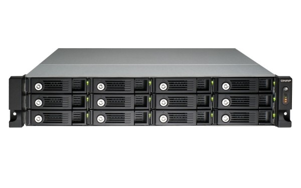 Qnap TS-1253U-RP 12-Bay 36TB Bundle mit 6x 6TB Gold WD6003FRYZ