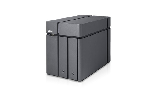 Qsan XCubeNAS XN3002T 2-Bay 3TB Bundle mit 1x 3TB DT01ACA300