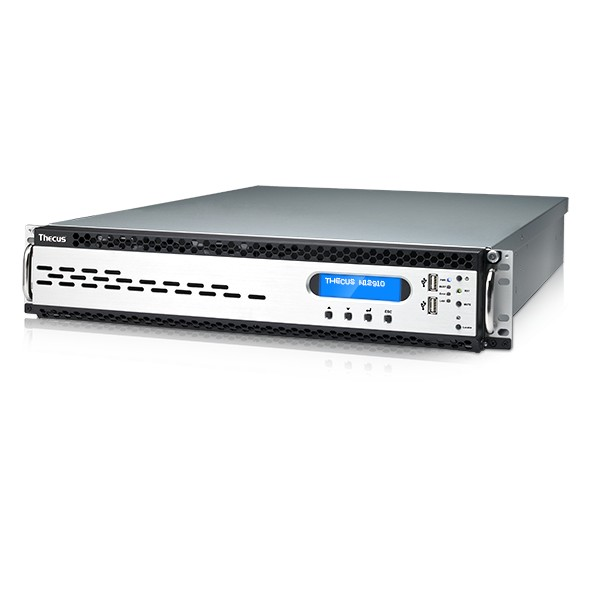 Thecus N12910 12-Bay 120TB Bundle mit 12x 10TB IronWolf ST10000VN0008