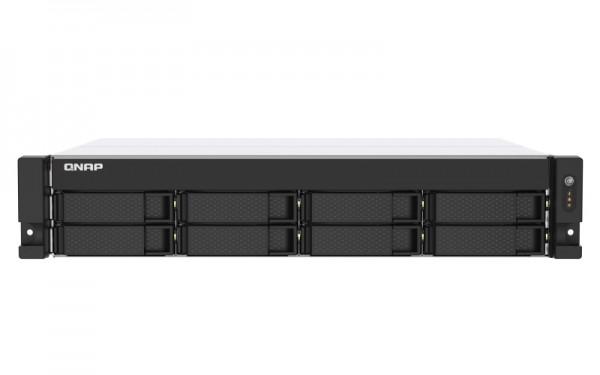 QNAP TS-873AU-16G QNAP RAM 8-Bay 24TB Bundle mit 2x 12TB Gold WD121KRYZ