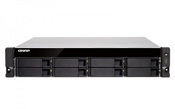 Qnap TS-877XU-RP-2600-8G 8-Bay 10TB Bundle mit 1x 10TB Red WD100EFAX
