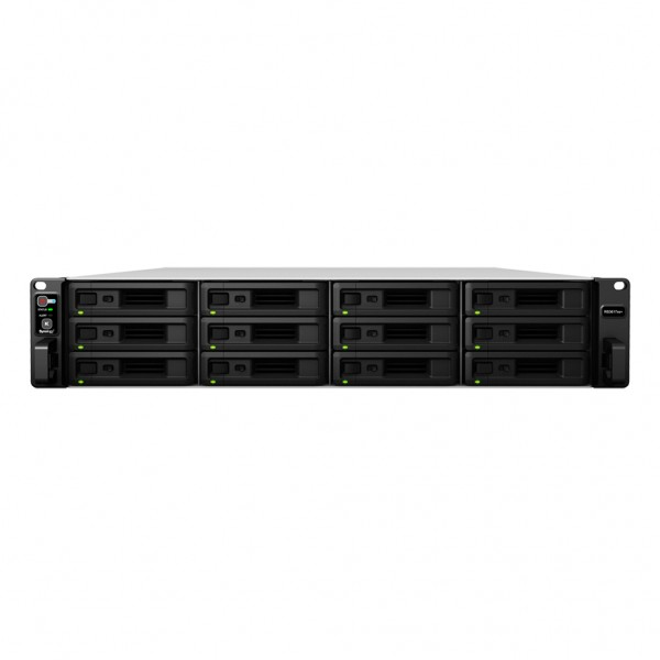Synology RS3617xs+ 12-Bay 48TB Bundle mit 6x 8TB IronWolf ST8000VN0004