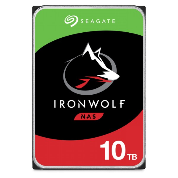10000GB Seagate IronWolf NAS HDD, SATA 6Gb/s (ST10000VN0004)