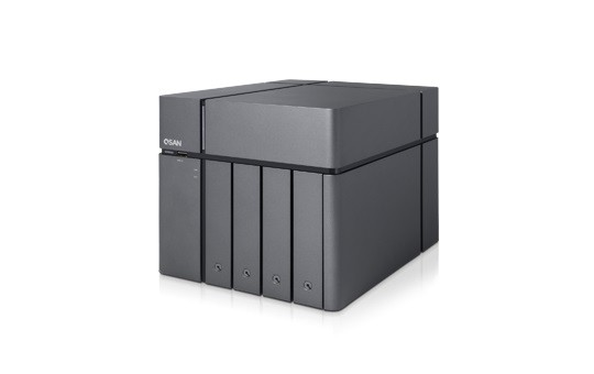 Qsan XCubeNAS XN5004T 4-Bay 6TB Bundle mit 2x 3TB DT01ACA300
