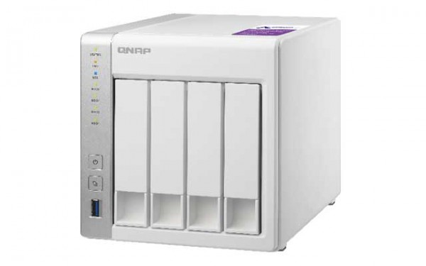 Qnap TS-431P 4-Bay 4TB Bundle mit 1x 4TB IronWolf ST4000VN008