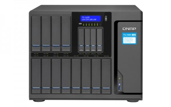 Qnap TS-1685-D1531-64G 16-Bay 144TB Bundle mit 12x 12TB IronWolf Pro ST12000NE0008