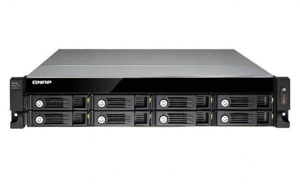 Qnap UX-800U-RP 8-Bay 8TB Bundle mit 4x 2TB Red Pro WD2002FFSX