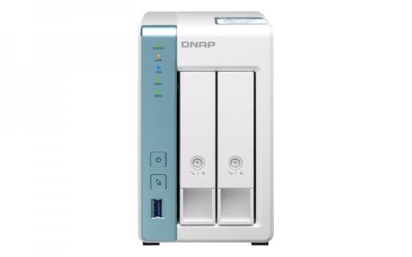 QNAP TS-231P3-2G 2-Bay 12TB Bundle mit 1x 12TB Gold WD121KRYZ