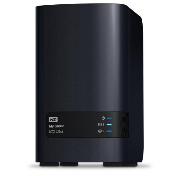 Western Digital My Cloud EX2 Ultra 2-Bay 12TB Bundle mit 1x 12TB Gold WD121KRYZ