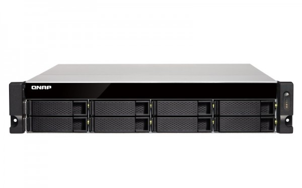 Qnap TS-832XU-4G 8-Bay 1TB Bundle mit 1x 1TB Red WD10EFRX