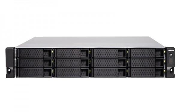 Qnap TS-1277XU-RP-2700-8G 12-Bay 60TB Bundle mit 6x 10TB Gold WD102KRYZ