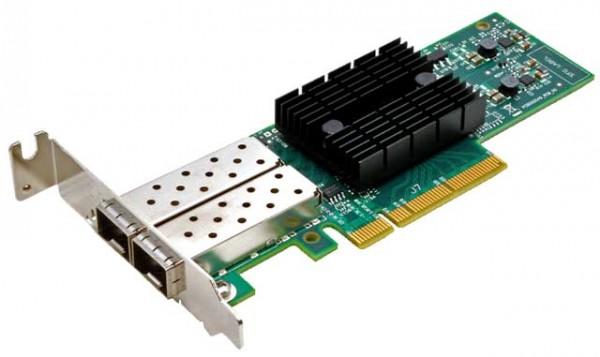 Synology NAS Netzwerkkarte E10G17-F2 10Gbit SFP+ Dualport, für die 3617xs Serie