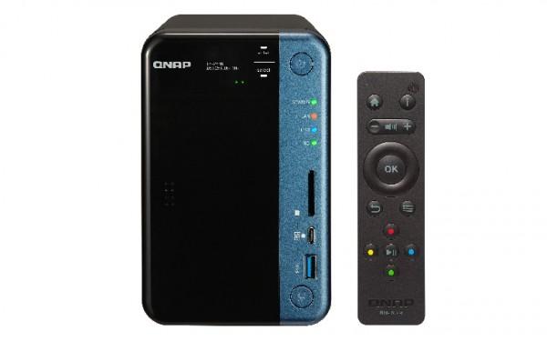 Qnap TS-253B-4G 2-Bay 6TB Bundle mit 1x 6TB Red WD60EFAX