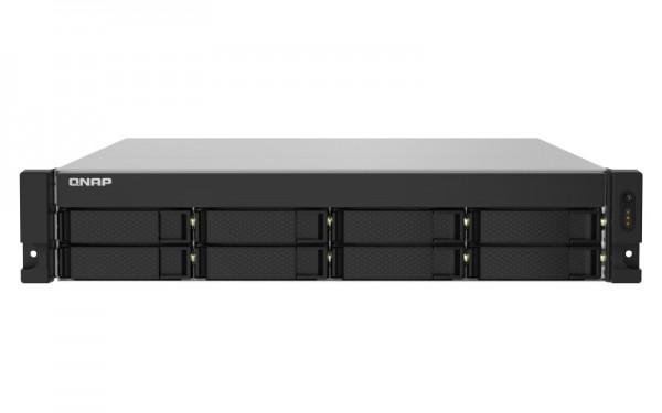 QNAP TS-832PXU-RP-8G 8-Bay 24TB Bundle mit 2x 12TB Gold WD121KRYZ