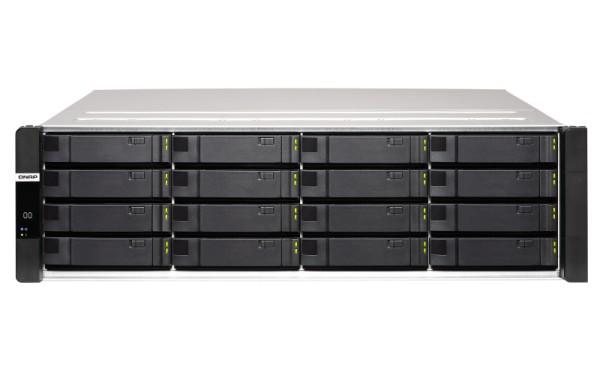 Qnap ES1686dc-2142IT-128G 16-Bay 160TB Bundle mit 16x 10TB Gold WD102KRYZ