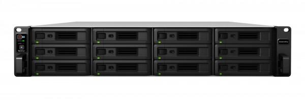 Synology RS3621RPxs(16G) Synology RAM 12-Bay 60TB Bundle mit 6x 10TB Gold WD102KRYZ