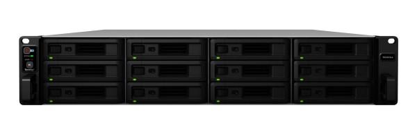 Synology RS3618xs 12-Bay 96TB Bundle mit 12x 8TB Red Pro WD8003FFBX