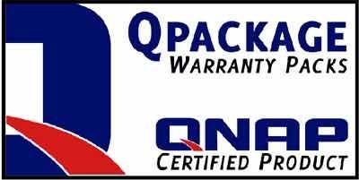Qnap QPackage Garantieerweiterung Qnap 4-bay Systeme 3Jahre Vorabaustausch EU au