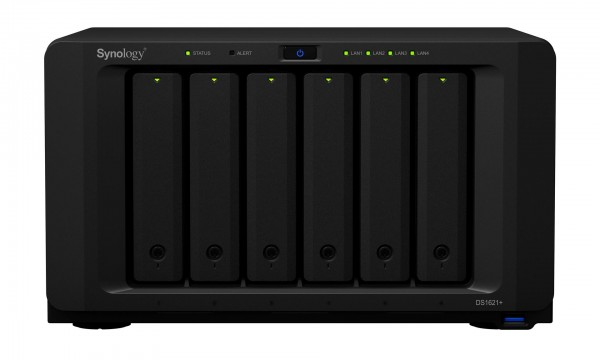 Synology DS1621+(8G) Synology RAM 6-Bay 40TB Bundle mit 4x 10TB Gold WD102KRYZ