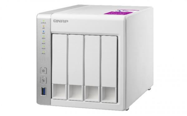 Qnap TS-431P2-4G 4-Bay 12TB Bundle mit 1x 12TB IronWolf ST12000VN0008