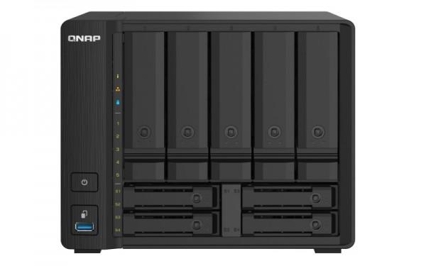 QNAP TS-932PX-8G QNAP RAM 9-Bay 24TB Bundle mit 2x 12TB Gold WD121KRYZ