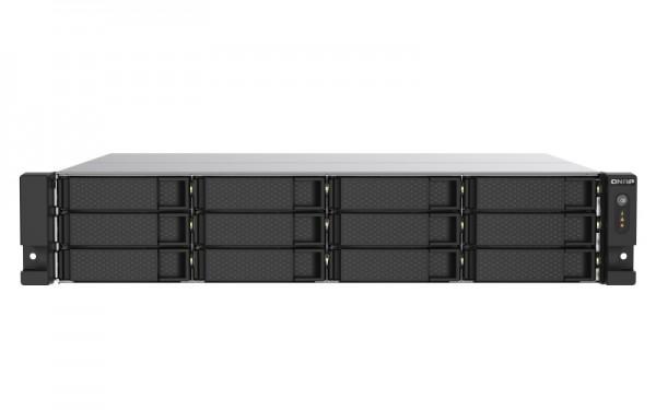 QNAP TS-1273AU-RP-8G 12-Bay 144TB Bundle mit 12x 12TB Gold WD121KRYZ