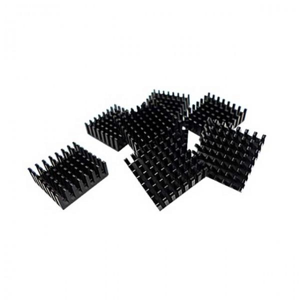 Qnap 8 Stück Kühlkörper Kühler 14x14mm selbstklebend für M.2 SSD HS-M2SSD-01