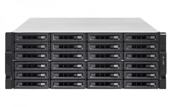 Qnap TS-2483XU-RP-E2136-16G 24-Bay 120TB Bundle mit 12x 10TB Gold WD102KRYZ