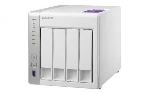 Qnap TS-431P 4-Bay 12TB Bundle mit 2x 6TB IronWolf Pro ST6000NE000