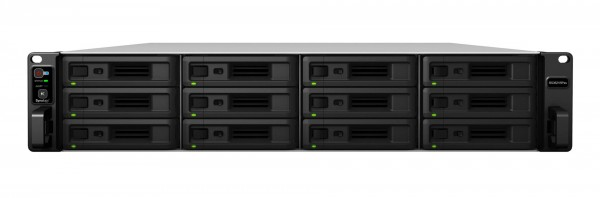 Synology RS3621RPxs 12-Bay 120TB Bundle mit 12x 10TB Gold WD102KRYZ