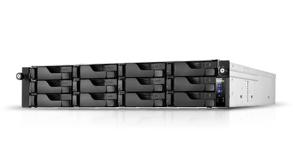 Asustor AS7112RDX 12-Bay 120TB Bundle mit 12x 10TB Gold WD102KRYZ