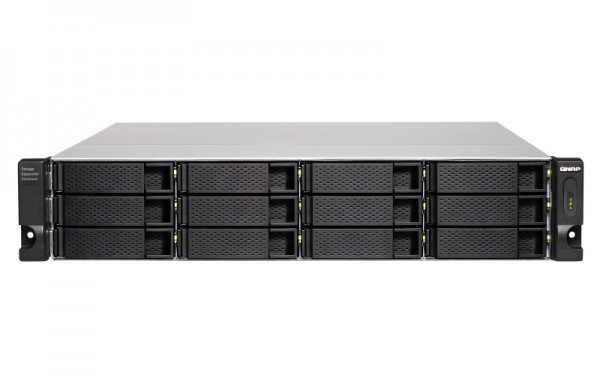 QNAP TL-R1200C-RP 12-Bay 120TB Bundle mit 12x 10TB Gold WD102KRYZ