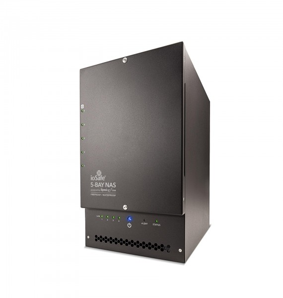 ioSafe NAS 1517, 4x Gb LAN, 150 TB (15 x 10 TB) HDD, 1 Jahr DRS BASIC (NF1015-1)