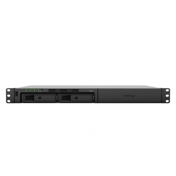 Synology RS217 2-Bay 4TB Bundle mit 1x 4TB HDs