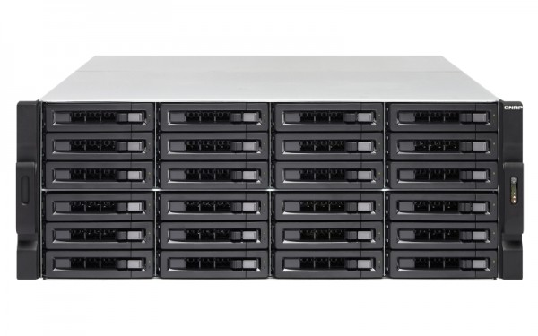 Qnap TS-2483XU-RP-E2136-16G 24-Bay 240TB Bundle mit 24x 10TB Gold WD102KRYZ