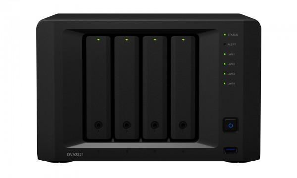 Synology DVA3221 4-Bay 30TB Bundle mit 3x 10TB Gold WD102KRYZ