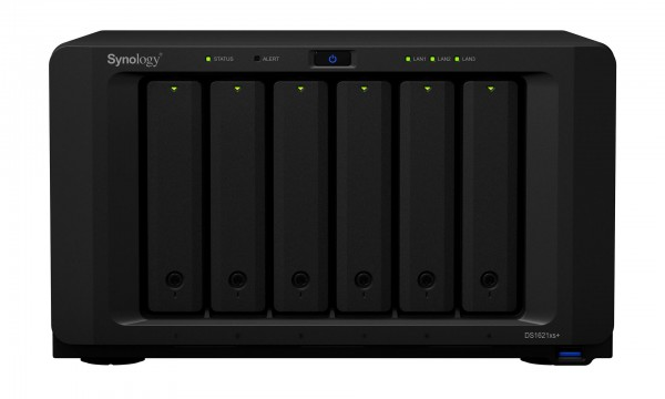 Synology DS1621xs+ 6-Bay 60TB Bundle mit 6x 10TB Gold WD102KRYZ