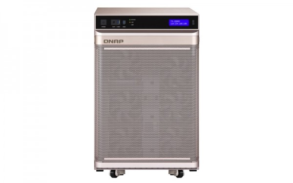 QNAP TS-2888X-W2175-512G 28-Bay 80TB Bundle mit 8x 10TB Gold WD102KRYZ