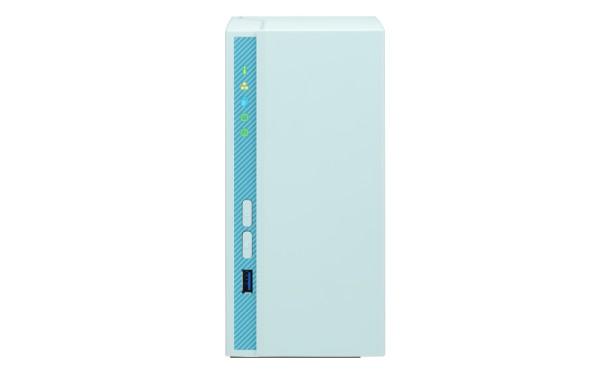 Qnap TS-230 2-Bay 8TB Bundle mit 2x 4TB IronWolf ST4000VN008