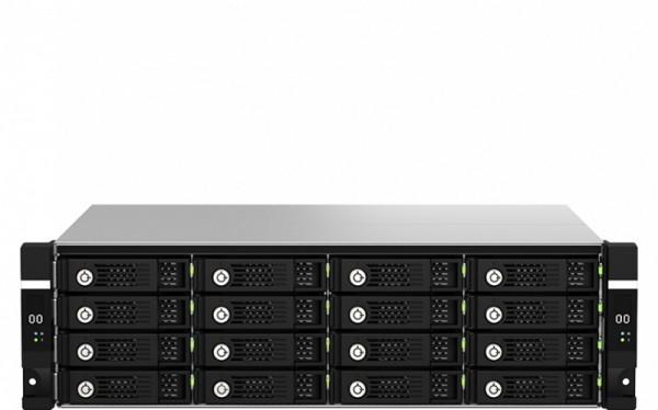 QNAP TL-R1620Sdc 16-Bay 128TB Bundle mit 16x 8TB Gold WD8004FRYZ