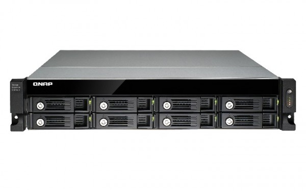 Qnap UX-800U-RP 8-Bay 48TB Bundle mit 8x 6TB Red Pro WD6002FFWX
